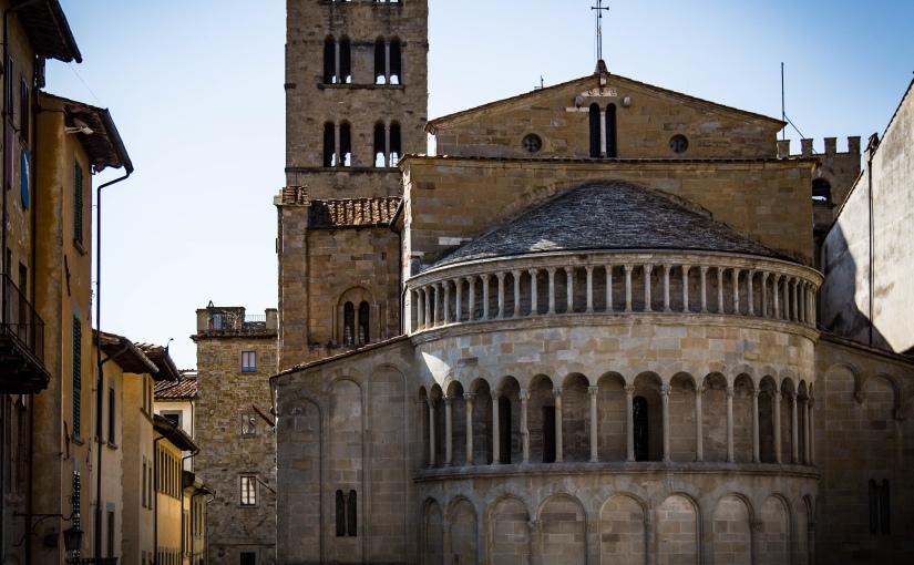 The magnificent, empty piazzas ofArezzo